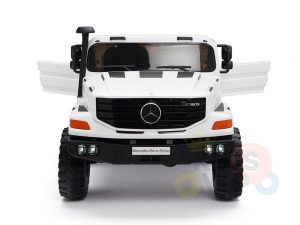 kidsvip zetros 24v kids ride on car 2 seater white 2