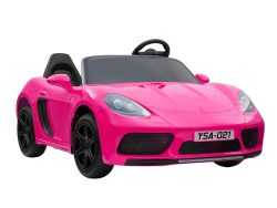 KIDSVIP XXL RIDE ON CAR FOR BIG KIDS 24V 180W RUBBER WHEELS LEATHER SEAT pink 44