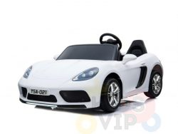 KIDSVIP XXL RIDE ON CAR FOR BIG KIDS 24V 180W RUBBER WHEELS LEATHER SEAT white 1
