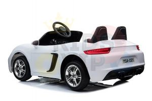 KIDSVIP XXL RIDE ON CAR FOR BIG KIDS 24V 180W RUBBER WHEELS LEATHER SEAT white 4