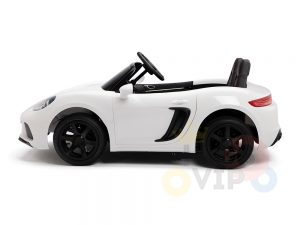 KIDSVIP XXL RIDE ON CAR FOR BIG KIDS 24V 180W RUBBER WHEELS LEATHER SEAT white 55