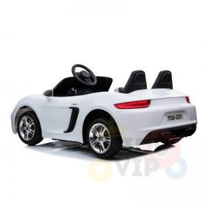 KIDSVIP XXL RIDE ON CAR FOR BIG KIDS 24V 180W RUBBER WHEELS LEATHER SEAT white 9