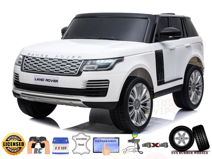 2 Seats 4×4 Official Range Rover Complete MP4 Edition 2x12V Kids Ride On Car with RC
