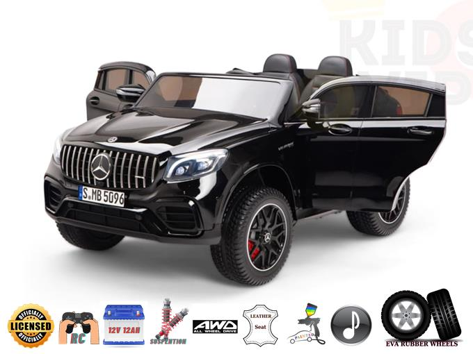 Licensed Mercedes Benz GLC 63 2 Seats 12V Kids Ride On Car  with Remote Control
