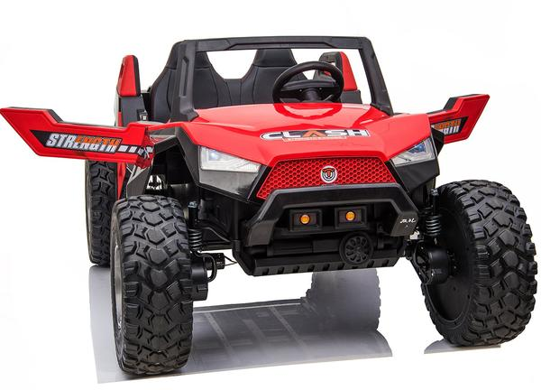 kidsvip dune buggy challenger 24v sx1928 ride on kids and toddlers rubber leather red 10