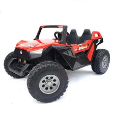 kidsvip dune buggy challenger 24v sx1928 ride on kids and toddlers rubber leather red 12