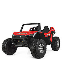 kidsvip dune buggy challenger 24v sx1928 ride on kids and toddlers rubber leather red 53