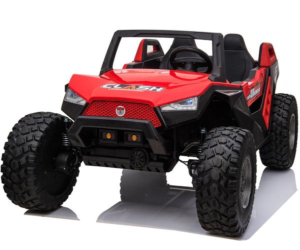 kidsvip dune buggy challenger 24v sx1928 ride on kids and toddlers rubber leather red 7
