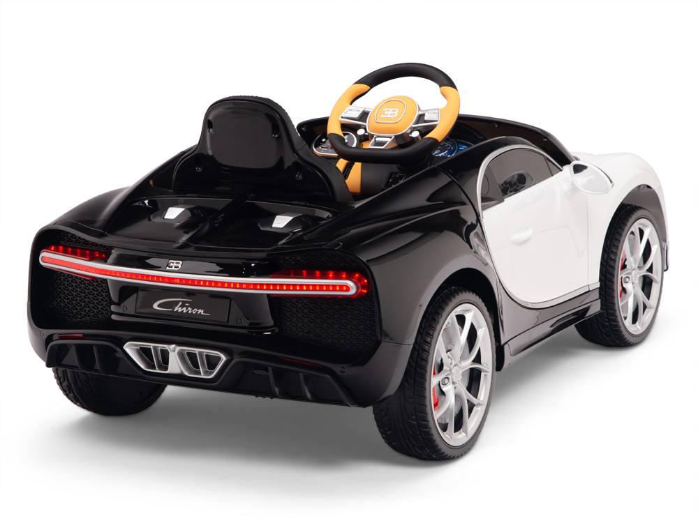 Official Bugatti Chiron kids Ride on Car with Remote Control & Rubber Wheels - Kids Vip