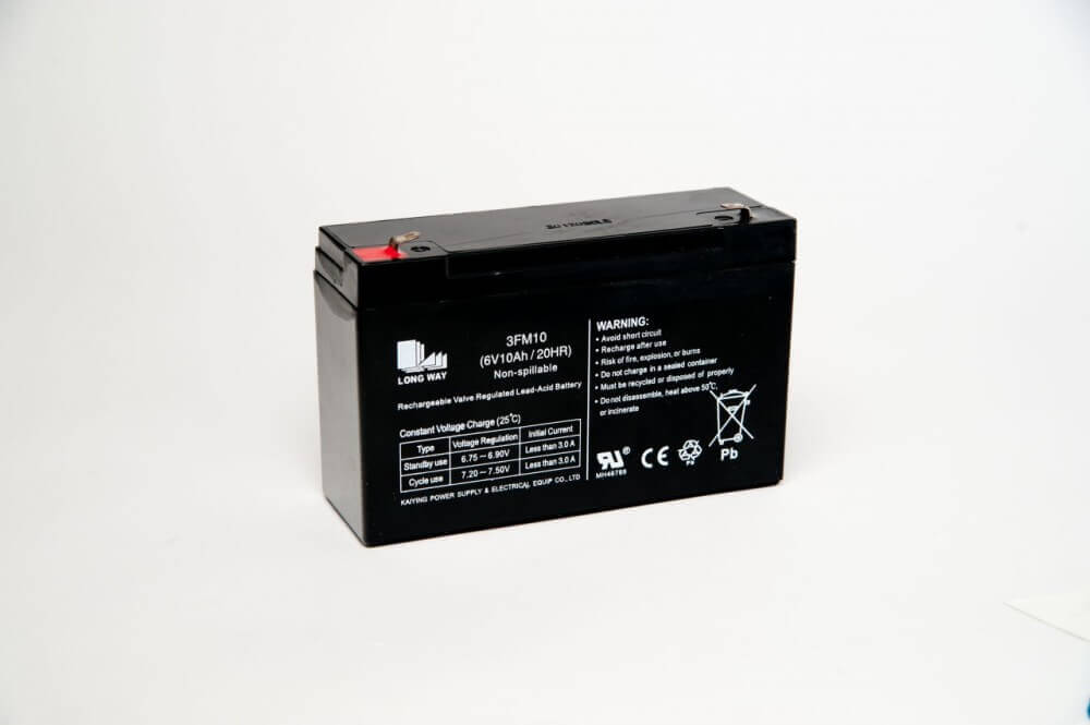 6V 7amp Replacement Battery for Ride on Cars