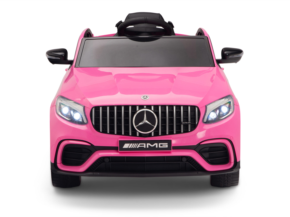 kidsvip mercedes glc63 kids ride on car for kids and toddlers 1 seater pink www.kidsviponline1