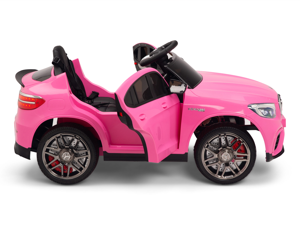 kidsvip mercedes glc63 kids ride on car for kids and toddlers 1 seater pink www.kidsviponline12