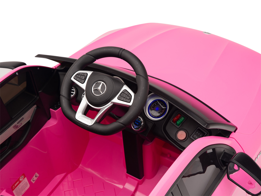 kidsvip mercedes glc63 kids ride on car for kids and toddlers 1 seater pink www.kidsviponline17