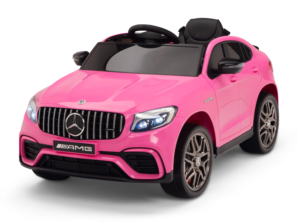 kidsvip mercedes glc63 kids ride on car for kids and toddlers 1 seater pink www.kidsviponline28