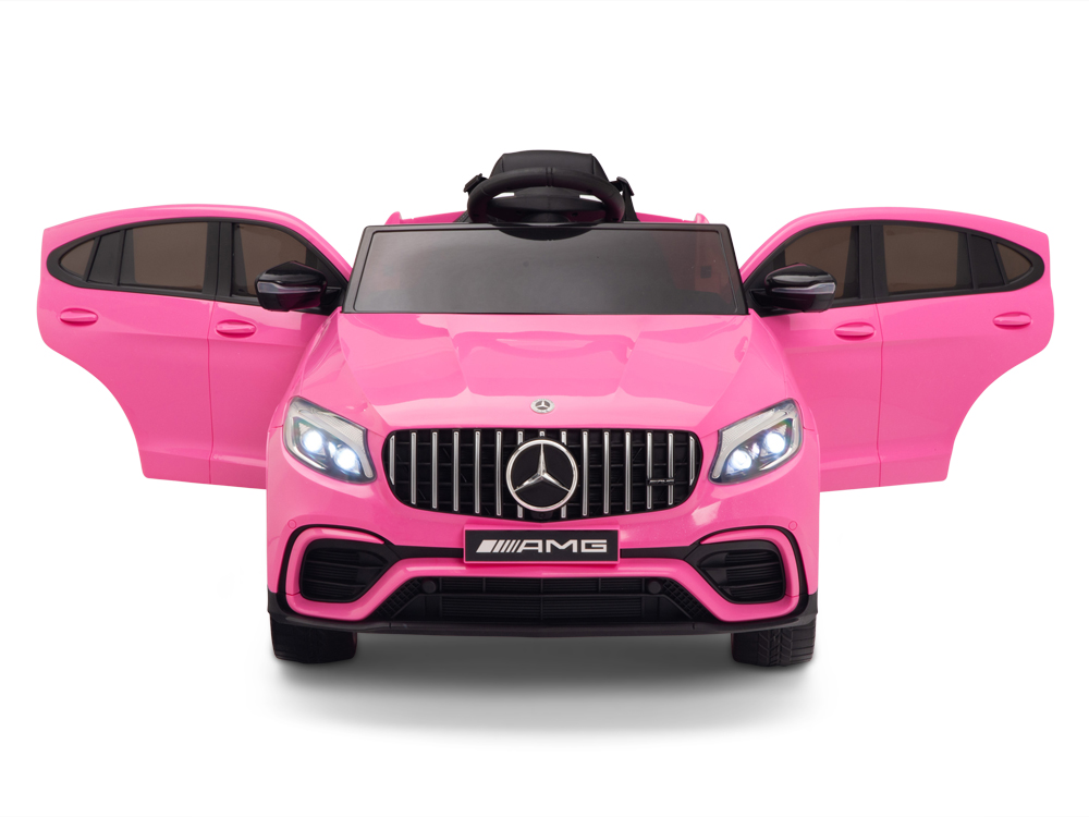 kidsvip mercedes glc63 kids ride on car for kids and toddlers 1 seater pink www.kidsviponline3
