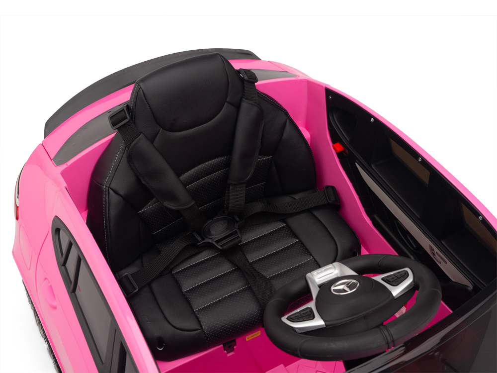 kidsvip mercedes glc63 kids ride on car for kids and toddlers 1 seater pink www.kidsviponline7
