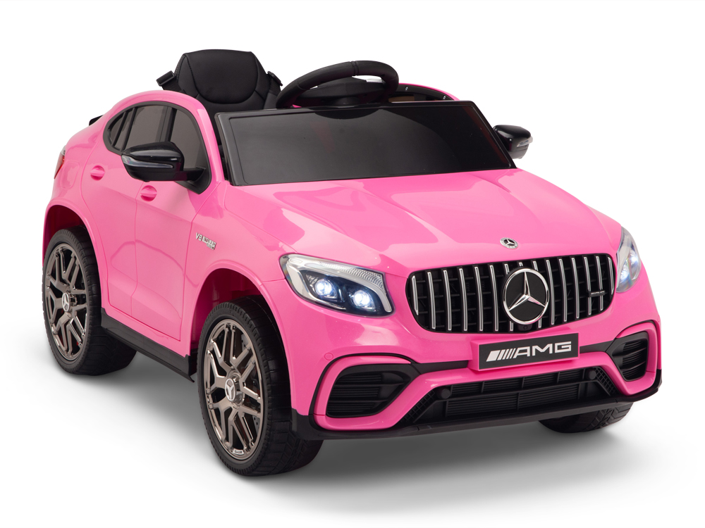 kidsvip mercedes glc63 kids ride on car for kids and toddlers 1 seater pink www.kidsviponline9