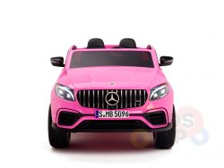 KIDSVIP 2SEAT 2 SEAT KIDS AND TODDLERS RIDE ON MERCEDES GLC pink 1