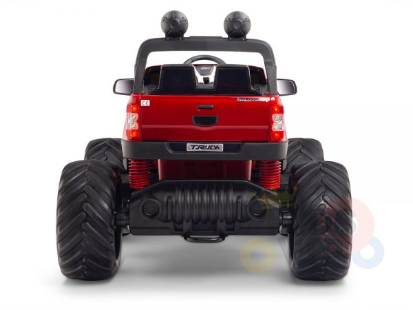 kidsvip 4x4 monster truck kids and toddlers 12v ride on truck car big rubber wheels 11