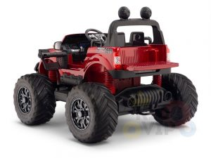 kidsvip 4x4 monster truck kids and toddlers 12v ride on truck car big rubber wheels 13