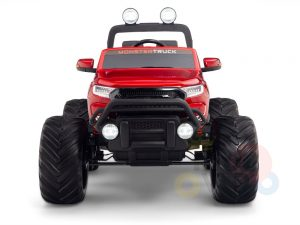 kidsvip 4x4 monster truck kids and toddlers 12v ride on truck car big rubber wheels 22