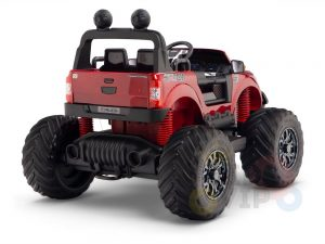 kidsvip 4x4 monster truck kids and toddlers 12v ride on truck car big rubber wheels 6