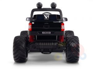 kidsvip 4x4 monster truck kids and toddlers 12v ride on truck car big rubber wheels black 11