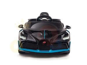 kidsvip buggati divo kids and toddlers ride on car sport 12v leather seat rubber wheels rc black 20