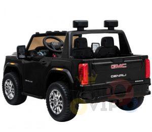 kidsvip gmc sierra kids ride on car 12v rubber wheels leather seat 2 seater red white black blue pink 16 1
