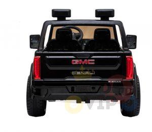 kidsvip gmc sierra kids ride on car 12v rubber wheels leather seat 2 seater red white black blue pink 27 1