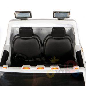 kidsvip gmc sierra kids ride on car 12v rubber wheels leather seat 2 seater red white black blue pink 7