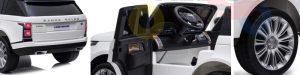 range rover kids ride on car 2 seats kidsvip 11