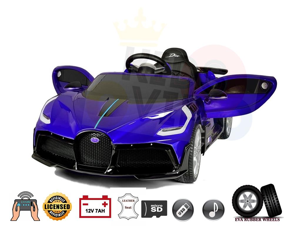 Licensed Limited Bugatti Divo 12v Kids Ride on Car With RC