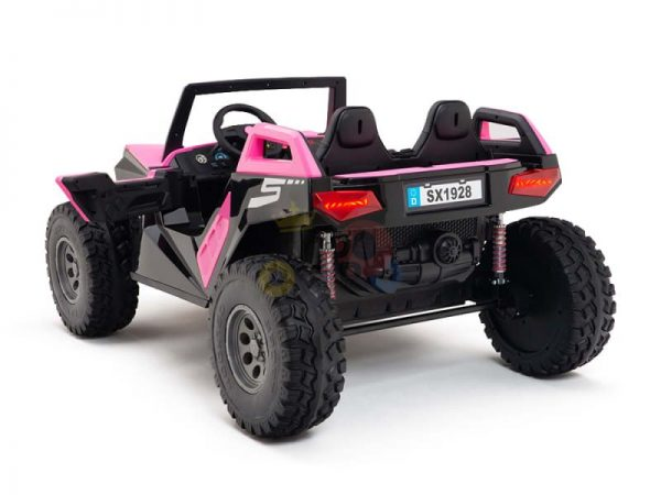 kids vip dune buggy challenger 24v sx1928 ride on kids 2 seater pink 13