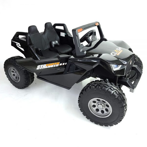 kidsvip dune buggy challenger 24v sx1928 ride on kids and toddlers rubber leather black 11 1