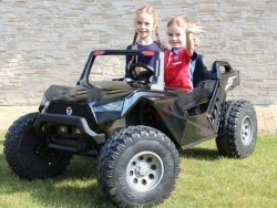 kidsvip dune buggy challenger 24v sx1928 ride on kids and toddlers rubber leather black 39