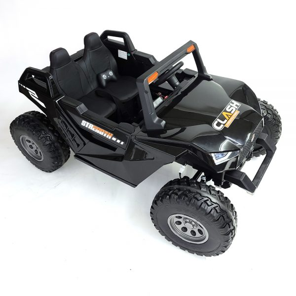 kidsvip dune buggy challenger 24v sx1928 ride on kids and toddlers rubber leather black 6 1