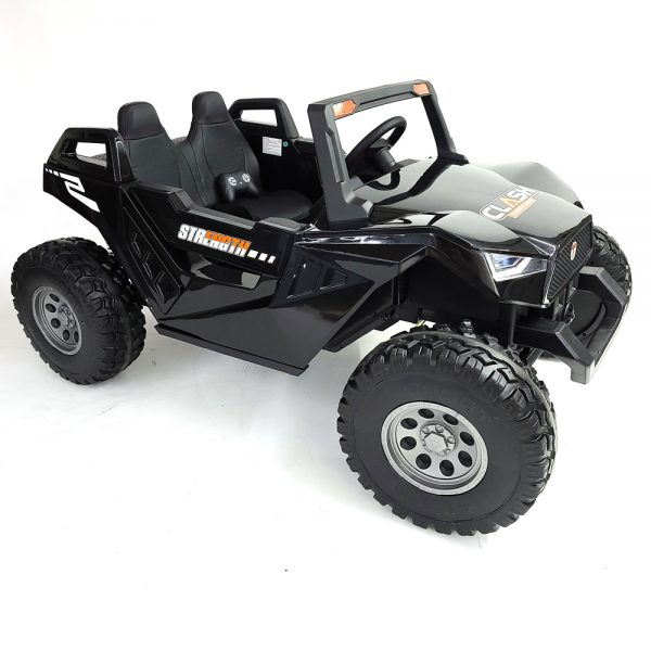 kidsvip dune buggy challenger 24v sx1928 ride on kids and toddlers rubber leather black 8