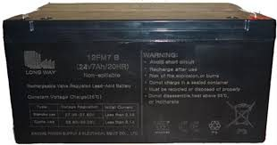24V 7amp Replacement Battery for Ride on Cars