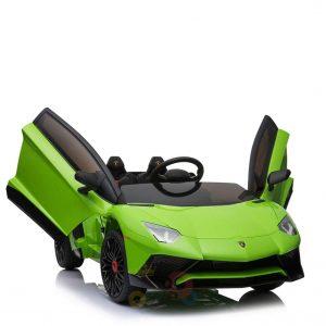 kidsvip lamborghin sv ride on car GREEN 12V REMOTE CONTROL 1