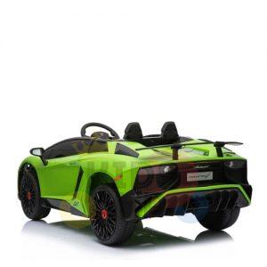 kidsvip lamborghin sv ride on car GREEN 12V REMOTE CONTROL 10