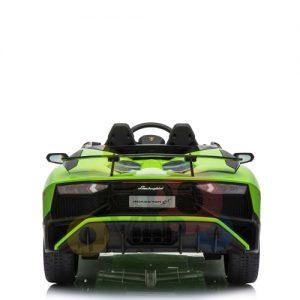 kidsvip lamborghin sv ride on car GREEN 12V REMOTE CONTROL 13