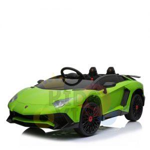 kidsvip lamborghin sv ride on car GREEN 12V REMOTE CONTROL 2