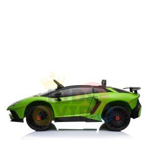 kidsvip lamborghin sv ride on car GREEN 12V REMOTE CONTROL 3
