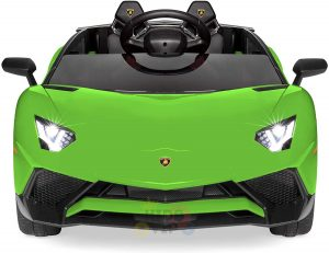 kidsvip lamborghin sv ride on car GREEN 12V REMOTE CONTROL 5