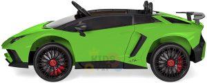 kidsvip lamborghin sv ride on car GREEN 12V REMOTE CONTROL 6