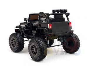 24v kids ride on truck lifted jeep rc kidsvip 19