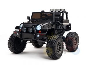 24v kids ride on truck lifted jeep rc kidsvip 24