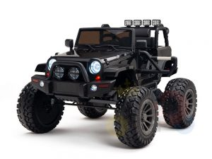 24v kids ride on truck lifted jeep rc kidsvip 30 2