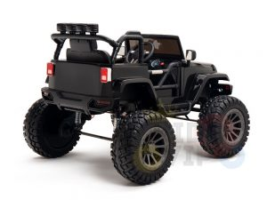 24v kids ride on truck lifted jeep rc kidsvip 34
